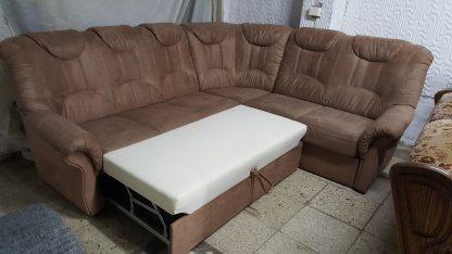 svetainės kampas, miegamas kampas