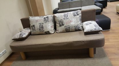 Sofa-lova, miegama sofa.
